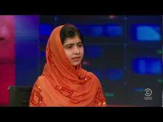 Malala Yousafzai amazing answer on The Daily Show with Jon Stewart