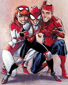 Spider-Man family