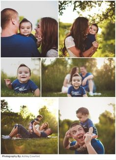 Family Picture Ideas: Sunshine in the Park by mandy