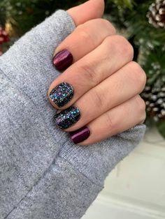 Get Nails, How To Do Nails, Hair And Nails, Pretty Nail Colors, Pretty Nails, Fabulous Nails, Gorgeous Nails, Nail Color Combos, Nail Jewelry