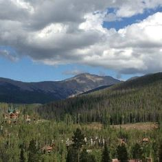 Winter Park overlooking The Continental Divide