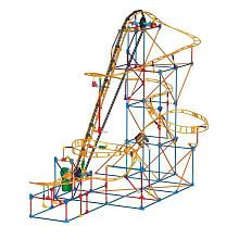 K'NEX Building Set - Phoenix Fury Coaster.  For ages 3 (or the age your child can be trusted not to swallow small pieces) and up.