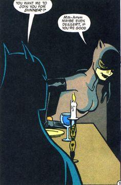 Batman is definitively kinky