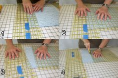 My Patchwork Quilt: You never have to rotate your fabric again when cutting with a rotary cutter...how to....