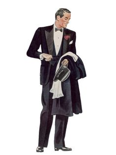 1945, suit, whitr shirt with high collar, suit for big event