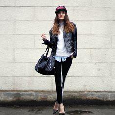 La Souvenir Snapnack, Vintage Jacket, Choies Trousers, Guess? Bag - Oh snap. - Anouska Proetta Brandon