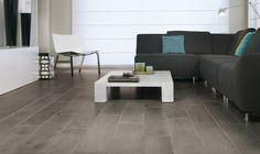 Balterio I Laminate flooring parquet Oak Laminate Flooring, Grey Flooring, Floors, Grey Floorboards, Topps Tiles, Guest Bedrooms, Living Room, Interior Design, Furniture
