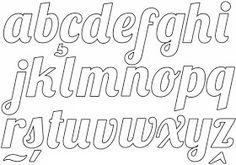 60 MOLDES DE LETRAS DIFERENTES PARA BAIXAR! - ALFABETOS LINDOS Stencil Lettering, Lettering Tutorial, Hand Lettering Alphabet, Doodle Lettering, Script Lettering, Handwritten Fonts, Calligraphy Fonts, Typography Fonts, Lettering Design