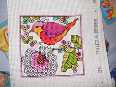 Bianca's Cross Stitch Oasis: Football and Stitching but not at the same time