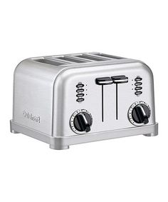 Look what I found on #zulily! Brushed Chrome Four-Slice Toaster by Cuisinart #zulilyfinds