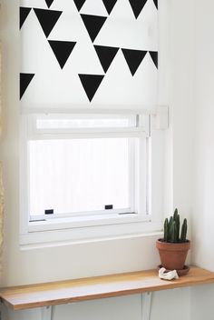Before & After:  No Excuse for a Naked Window — Decorating Project