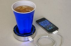 Charge Your Phone With Hot and Cold Drinks