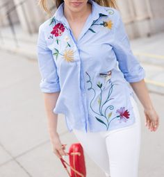 Embroidered Trend