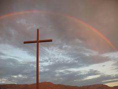 cross and rainbow 2 | 相片擁有者 jill_in_cottonwood