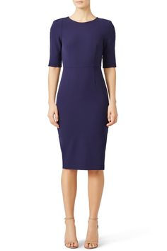 Rent Deep Blue Trina Dress by ST by Olcay Gulsen for $35 only at Rent the Runway.