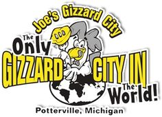 Joe's Gizzard City 120 West Main Street Potterville MI (517) 645-2120 (9/13) excellent gizzards & a big wow for the battered dogs with chili