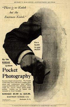 vintage everyday: Vintage Kodak Camera Advertisements from 1886-1900