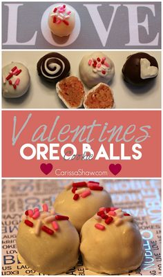 Strawberry Cheesecake OREO Cookie Balls