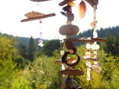 Driftwood Sun Catcher Natural Art Sculpture Zen by BloomingGoddess, $34.50
