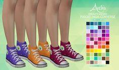Aveira's Sims 4, Dreamteamsims Pixicat High Converse - Recolor 66...