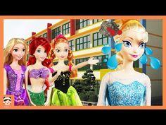 겨울왕국 엘사 안나 호텔 가다! 캐리와장난감친구들 주방놀이 세트 장난감 놀이 ! 캐리 소꿉놀이 디즈니 공주 동화 애니메이션 꾸러기 아기 인형극 이야기 | 보라미 TV Borami - YouTube