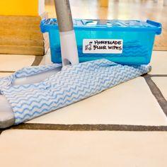 Clean Dream: DIY Reusable Floor Wipes