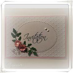 Lunasdatters Scrapbooking: Invitation..