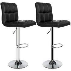 tabouret de bar lot de 2 tabouret de bar design chaise de bar noir