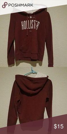 Hollister sweater maroon Hollister Sweaters