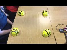 Line dancing Bee Bots 1 - YouTube