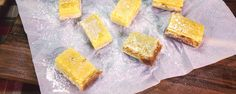 These little bites of heaven will prevent all the sour faces at your next party. Lighten up lemon bars