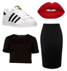 """""""Без названия #13"""" by di-21s on Polyvore featuring мода, Alexander McQueen, adidas, Ted Baker и Lime Crime"""
