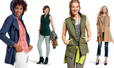 transitional dressing: fall into spring - Cabi Spring 2017 Collection Celadon Cargo are from Fall 2015. From the Cabi 2016 line: Cabi Adventure Anotak Jacket  100% cotton looks like denim. Hooded jacket with drawstring on inside to loosen or tighten waist. Perfect jacket for cool nights at the beach