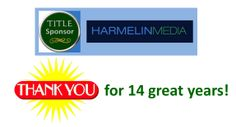 Thanks to HARMELIN MEDIA for your continued title sponsorship of the BEAR AFFAIR --- 14 years of great support and partnership!