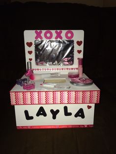 Layla's Valentines Day box.