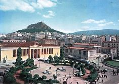 Athens (60's) Greece Pictures, Old Pictures, Old Photos, Athens Greece, Cities, Greek, Memories, Mansions, History