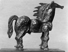 Sculptures de Georges BRAQUE, Paris, vers 1932 photo de BRASSAÏ