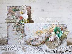 janeza's art blog: Две весенние открыточки для блога LSG + видео мк