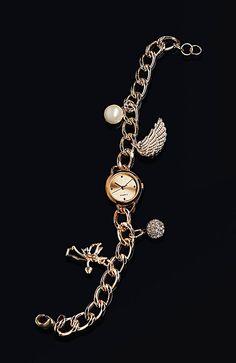 "Crystal Blue Armbanduhr ""Angel"""