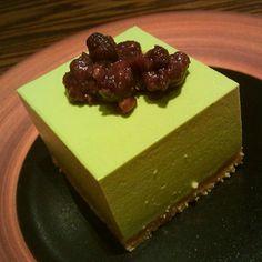 Matcha Azuki Tofu Cheesecake @ Sun With Moon Japanese Dining & Cafe (Wheelock Place)