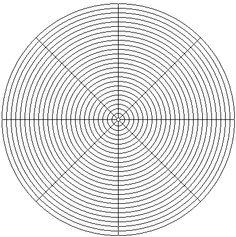 printable seed bead graph paper. free hexagonal weave