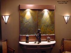 Bring Nature Indoors with Slate Wall Fountains