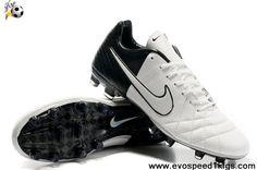 Fashion Nike Tiempo Legend IV Elite FG White-Black-White Football Boots Store
