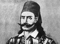 Αγγελής Γοβγίνας (1780 – 1822): Αγωνιστής του '21 από την Εύβοια. Γεννήθηκε το 1780 και το πραγματικό του όνομα ήταν Αγγελής Τζουτζάς ή Τζοτζάς... Hero from my father's home palace! San, History, Historia