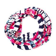 Floral Nautical Stripes