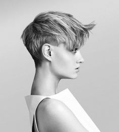 Cool Short hair love it!