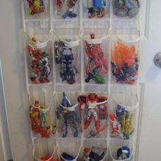 DIY Toy Organization Ideas for Kids and Playrooms - Don't let the toys take over! Organize your kids' playroom with these clever DIY Toy Organization Ideas for kids' bedrooms and playrooms. We need this so bad! Toy Storage Solutions, Diy Toy Storage, Playroom Storage, Shoe Storage, Bedroom Storage, Barbie Storage, Storage Stairs, Storage Hacks, Creative Storage