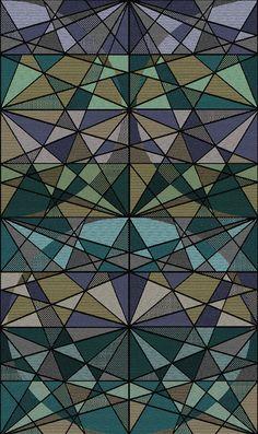 textil inspirado en un caleidoscopio. Disponible en la tienda Online https://www.kichink.com/stores/cristinaorozcocuevas#.VGYWJckhAnj