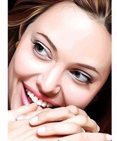 Angelina. La mujer mas bella del planeta. Toda una inspiración.