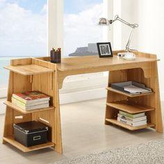 Legare Convertible Craft Desk - Amber Bamboo - Elementary Desks at Hayneedle Coaster Furniture, Home Furniture, Furniture Design, Furniture Ideas, Home Office, Plywood Table, Convertible, Bamboo Crafts, Bamboo Art